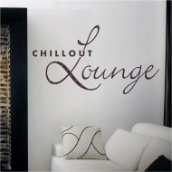 Wandtattoo Spruch Wandworte: Chillout Lounge (wrt07)