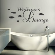 Wandtattoo Spruch Wandworte: Wellness Lounge